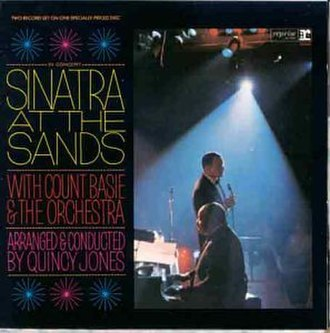 Sinatra at the Sands - Image: Sinatra At The Sands