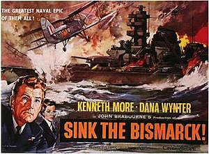 Sink the Bismarck! - Image: Sink the Bismarck poster