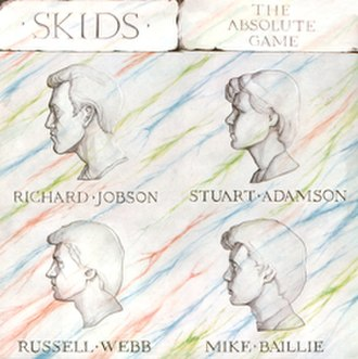The Absolute Game - Image: Skids The Absolute Game LP cover