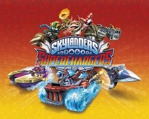 Skylanders: SuperChargers - Image: Skylanders Super Chargers cover art
