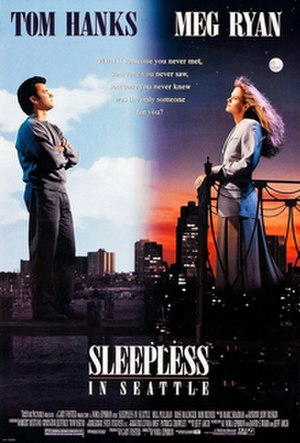 Sleepless in Seattle - Theatrical release poster