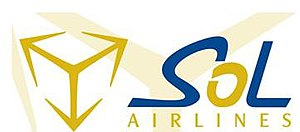 Sol Dominicana Airlines - Image: Sol Airlineslogo