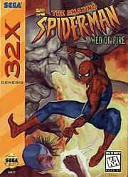 File:Spiderman Web Of Fire for Sega 32X.jpg spiderman web of fire for sega