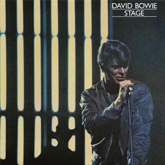 Stage (David Bowie album) - Image: Stage album cover