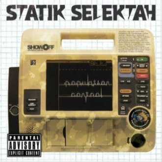 Population Control (album) - Image: Statik Selektah Population Control