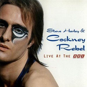 Live at the BBC (Steve Harley & Cockney Rebel album) - Image: Steve Harley & Cockney Rebel Live at the BBC 1995 Album