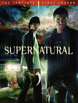 Supernatural (season 1) - DVD cover art