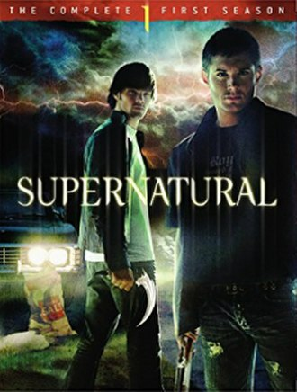 Supernatural (season 1) - DVD cover art