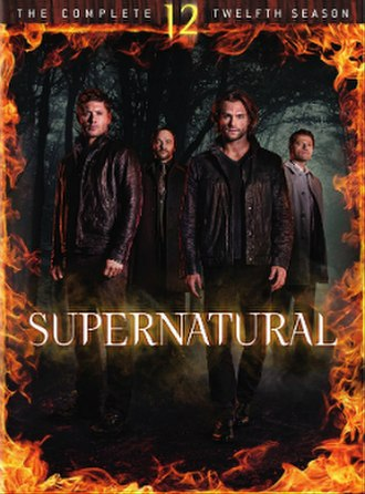 Supernatural (season 12) - DVD cover art
