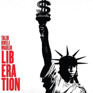 Liberation (Talib Kweli and Madlib album) - Image: Talib Liberation Alt Cover