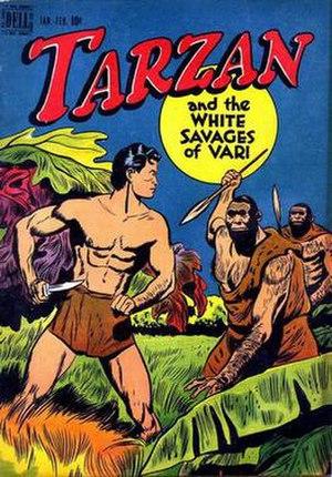 Tarzan in comics - Image: Tarzan (1948) 01