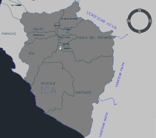 Tate District District in Ica, Peru