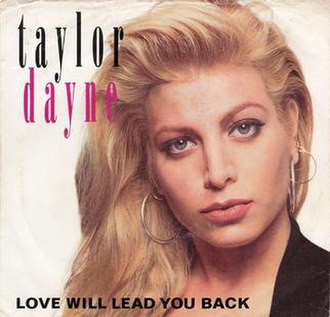 Love Will Lead You Back - Image: Taylor Dayne – Love Will Lead You Back (alternative cover)