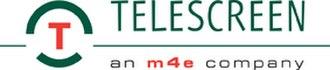 Telescreen (company) - Image: Telescreen m 4e logo WEB