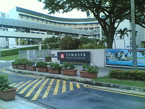 The architecture of Temasek Polytechnic (1991-...