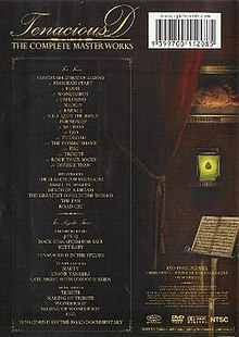 The back cover showing the pick.