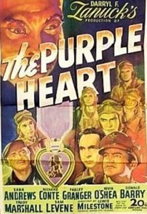 The Purple Heart - Theatrical poster