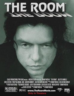 <i>The Room</i> 2003 film directed by Tommy Wiseau