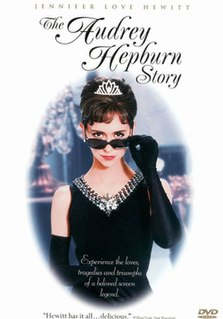<i>The Audrey Hepburn Story</i> 2000 television film biopic directed by Steven Robman
