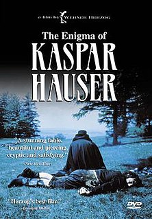 <i>The Enigma of Kaspar Hauser</i> 1974 film