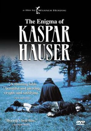 The Enigma of Kaspar Hauser - DVD cover