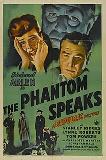 <i>The Phantom Speaks</i> 1945 film by John English