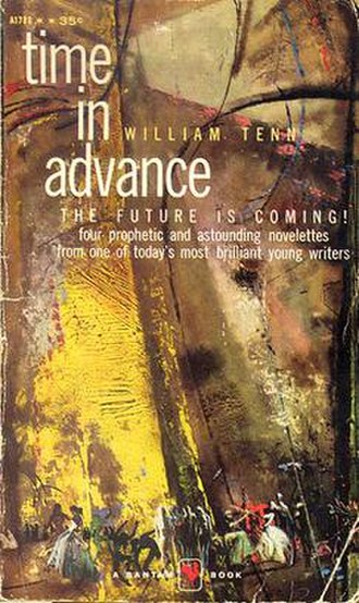 Out of the Unknown - Front cover of the William Tenn's Time in Advance.