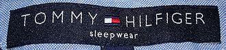 Designer label - The Tommy Hilfiger brand is an example of a designer label.