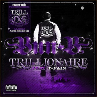 Trillionaire (song) - Image: Trillionaire Single Cover