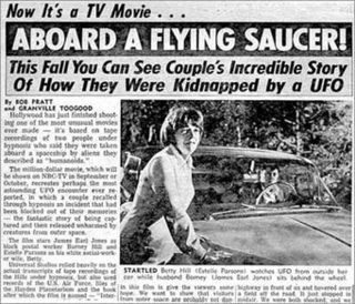 <i>The UFO Incident</i> 1975 television film