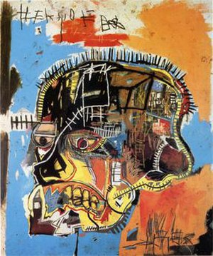 Jean-Michel Basquiat - Scull (1981)