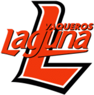 Vaqueros Unión Laguna - Vaqueros Laguna logo used between the 2003 and 2016 seasons