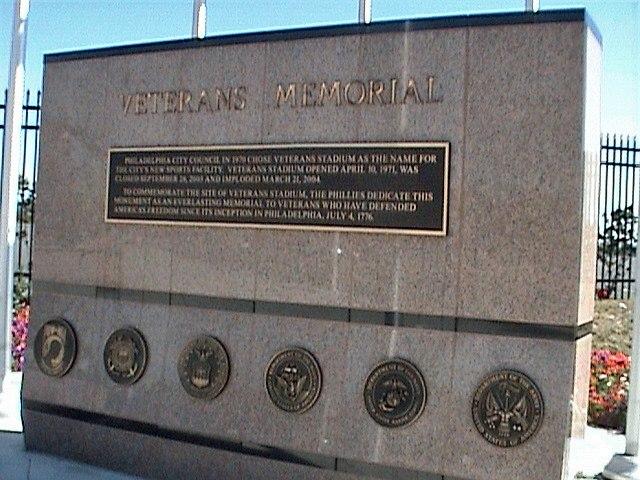 Vet Memorial, Veterans Stadium