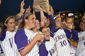 Valencia High School (Santa Clarita, California) - Valencia High School Softball - National Champions 2007