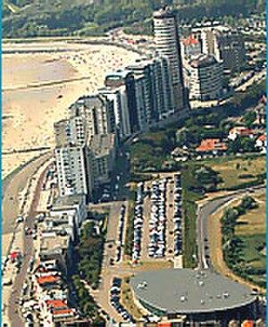 Vlissingen - Vlissingen's seaside boulevard at the start of the 21st century.