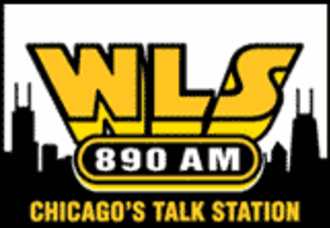 WLS (AM) - WLS logo for its Talk Radio years.
