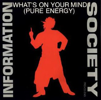 Information Society — What's on Your Mind (Pure Energy) (studio acapella)