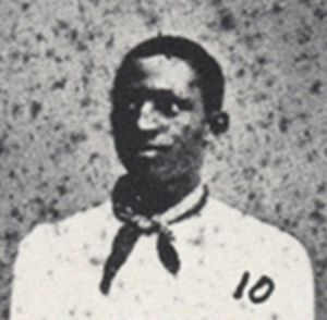 Weldy Walker - Weldy Walker cropped from portrait of the 1881 Oberlin College baseball team
