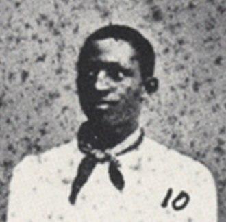 Weldy Walker - Weldy Walker cropped from portrait of the 1881 Oberlin College baseball team