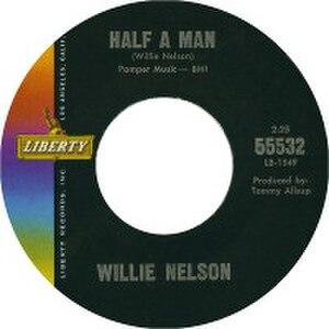 Half a Man - Image: Willie Nelson Half a Man
