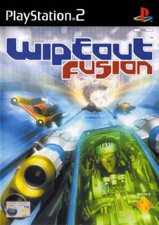 <i>Wipeout Fusion</i> 2002 video game