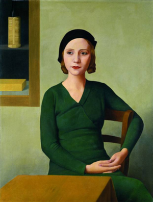 Woman at the Café - Image: Woman at the Cafe