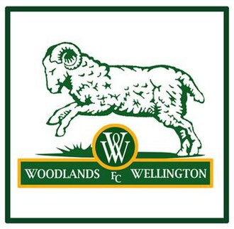 Woodlands Wellington FC - Image: Woodlands Wellington Football Club Logo 1996 to 2002