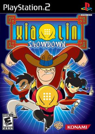 Xiaolin Showdown (video game) - North American cover art for PlayStation 2