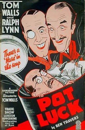 Pot Luck (1936 film) - Original Trade Advertisement