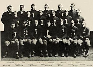 1908 Illinois Fighting Illini football team - Image: 1908 Illinois Fighting Illini football team