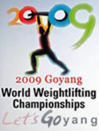2009 World Weightlifting Championships - Image: 2009 World Weightlifting Championships logo