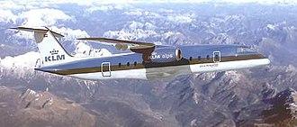 Fairchild Dornier 428JET - CG rendering of a 428JET in KLM livery.