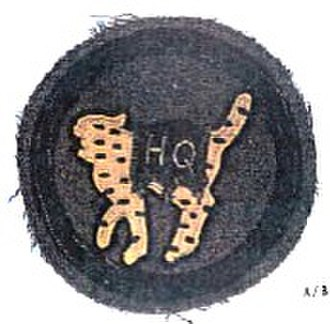 81st Infantry Division (United States) - 81st Division headquarters shoulder insignia circa 1918