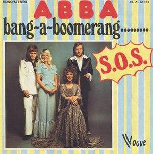 Bang-A-Boomerang - Image: ABBA Bang A Boomerang